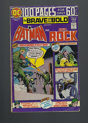 Brave and the Bold #117 (Mar. 1975, DC) Batman and Sgt. Rock, [2.5 GD+]