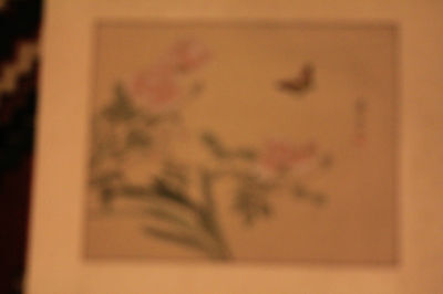 Chinese hand painted - painting (6 of 8) Unframed