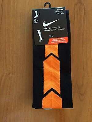 Nike Elite Match Fit Football Socks Brand New Tagged.6 pairs available Size 8-11