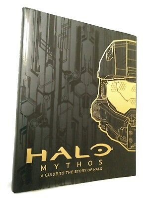 HALO MYTHOS by Microsoft NEW Hardback Book A Guide To The Halo Universe