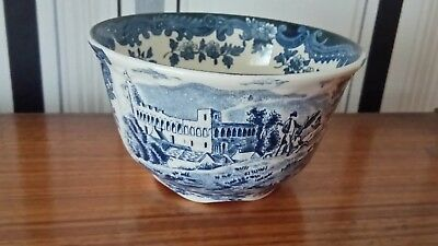 palissy blue and white bowl