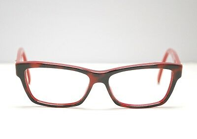7bb1f778ed Designer GUCCI Red and Black Eyeglasses   Made in Italy   Model GG 3562   1784