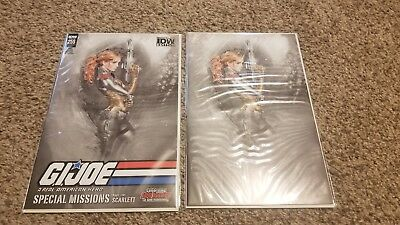 gi joe a real american hero1 natali sanders  variant virgin nm plus