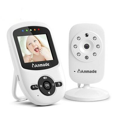 Video Baby Monitor Wireless With Digital Camera,Anmade 2 Way Talkback, 2.4Inch S