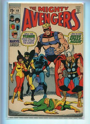 Avengers #68 Higher Grade Classic Cover Gem