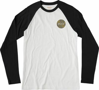 173eb2e3c NEW RVCA BIG Logo Print Men's Raglan Sleeve T-Shirt - $22.95 | PicClick