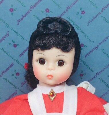 Madame Alexander Jo Little Women 8in Doll #413 Restrung Tag Box Dress 1981