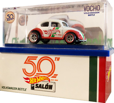 2018 Hot Wheels VOCHO CONVENTION MEXICO > Volkswagen Vw Beetle with Case look