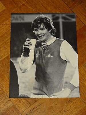 Original Press Photograph Arsenal Willie Young Feb 5th 1979