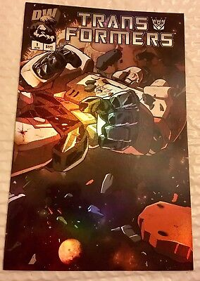 Transformers generation 1, Issue 1, Vol 2. 1st Print. Dreamwave. Chrome Cover