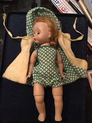 1950s TAGGED DOLL CLOTHES, BATHING SUIT & COVER UP,MADAME ALEXANDER-KINS