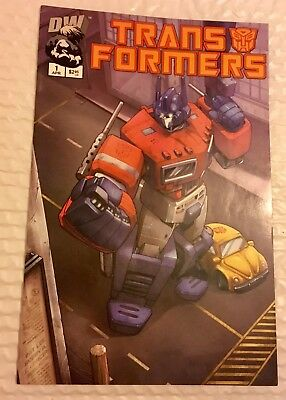 Transformers Comic Generation 1 Preview Vol 1, 2 Printing. 2002 - Dreamwave Prod