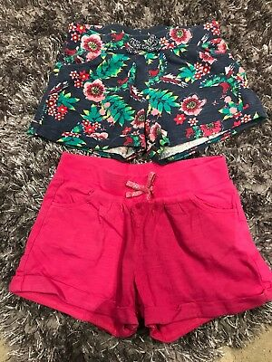 Girls Ages 3-4 Years F&F Shorts