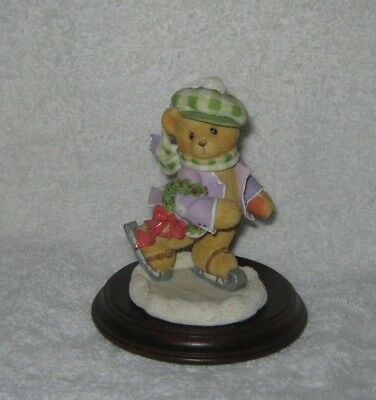 "Cherished Teddies - Adam - ""It's A Holiday On Ice"" - Dated 1997"