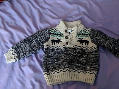 Gymboree Cable Knit Sweater; 12-18 Months; Baby Toddler Boy Clothes
