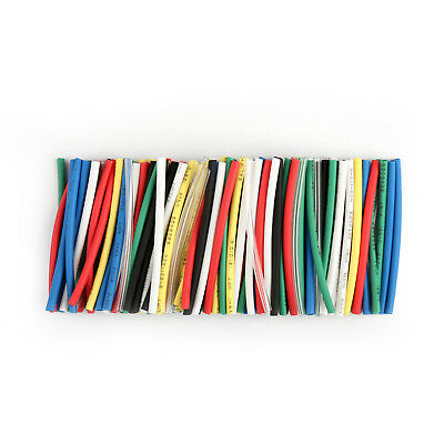 140Pcs 7 Colors 1mm Assorted 2:1 Heat Shrink Tubing Sleeving Wrap Cable 40mm UE