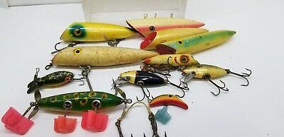 Vintage Fishing Tackle Lot of 11 Lures