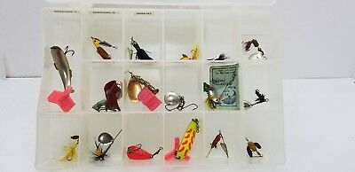 Vintage Outdoors Fishing Lures & Flies Lot of 50(approximately)