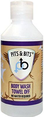 Pits and Bits Towel Off Body Wash