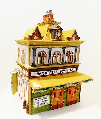 Dept.56  Dickens Village  Theater Royal  #55840   Retired  1992