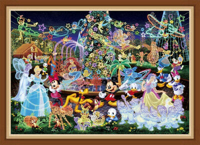 AU Disney Christmas Party 5D Full Diamond Painting Embroidery Cross Stitch ZG