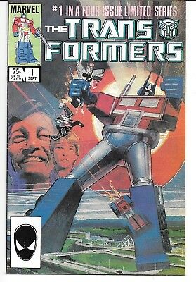 Transformers #1 -(Marvel 1984) - 1st Autobots vs Decspticons