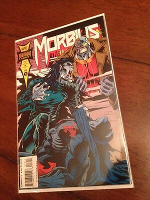 Morbius The Living Vampire #18 - Deathlok Appearance