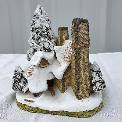 David Winter Cottages Snow Cottage John Hines Ltd. 1984 W/ Box COA
