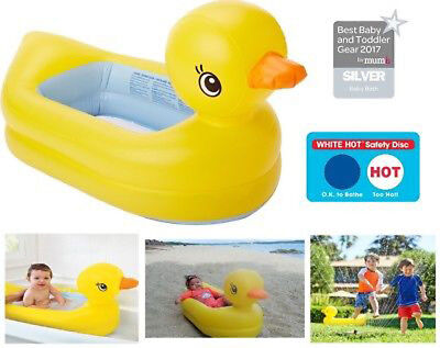 Munchkin White Hot Inflatable Safety Swan or Duck Tub CHEAP!!!