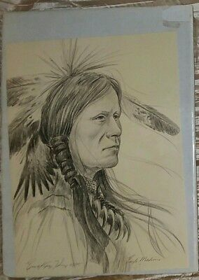 """ENOCH KELLY HANEY: """"EAGLE MEDICINE"""", Signed Limited Edition Numbered Print."""