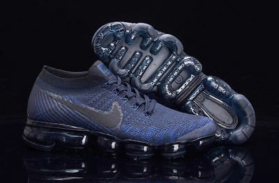 official photos dfb58 59d19 FREE SHIPPING NIKE Air Vapormax 2018 Flyknit Pure Platinum Men's Trainers  All S