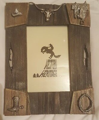 Western Heritage  Picture frame.