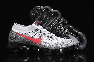 Free shipping Nike Air Vapormax 2018 Flyknit Pure Platinum Men's Trainers All  S