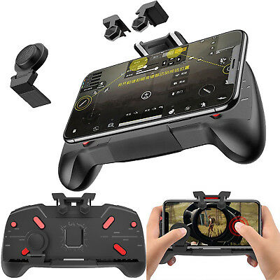 3in1 for PUBG Mobile Phone Gaming Trigger Gamepad Controller Handle Grip Joypad