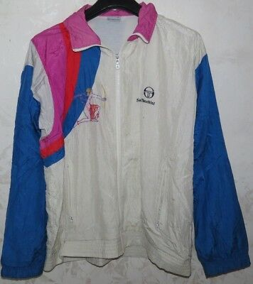 Giacca Jacket Jersey Suit Chandal Tennis Tacchini Italy Atp Vintage D48 Sampras