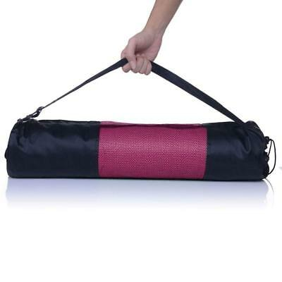 6mm Yoga Mat Thick PVC Exercise Pilates Physio Gym Lady Fitness Pad W/ Bag Pink