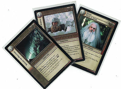 Lord of the Rings CCG Mines of Moria: 3x Rare Cards   freie Auswahl    Lot