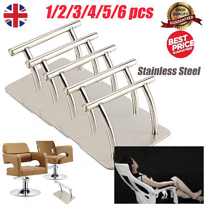 Shining Stainless Steel footrest Barbers Chair Salon Spa Beauty Parlor Equipment