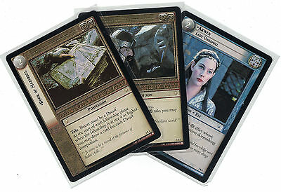 Lord of the Rings CCG Realm of Elf Lords: 3x Rare Cards   freie Auswahl    Lot