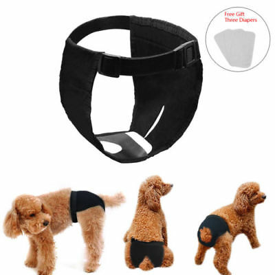 Reusable Pet Dogs Physiological Pants Diaper Panties Underwear F/ Female Dog