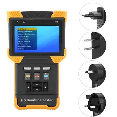 """DT-T60 4"""" HD IP CCTV Tester Analog SD/HD Video Ethernet Testing Combine Tester"""