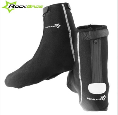RockBros Cycling Shoe Covers Warm Cover Overshoes Rain Waterproof Protector NEW