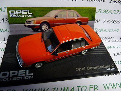 voiture 1/43 IXO eagle moss OPEL collection : commodore C 1978/1982