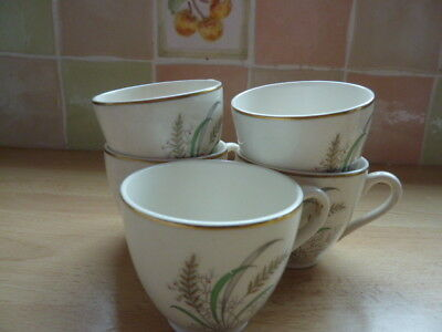 **COPELAND SPODE - OKLAHOMA BY HOLDWAY** 5 x Small Demitasse Coffee Cups