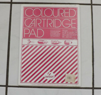 Coloured Cartridge Pad 20 X 10 Colours Still Sealed