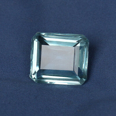 26.90 Ct. Natural Aquamarine Greenish Blue Color Octagon Cut Loose Certified Gem