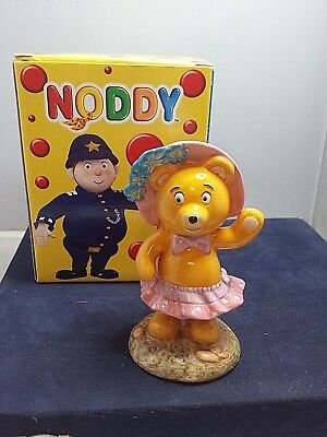 "Royal Worcester ""Noddy"" collection, Tessie Bear, 12 cms. tall, boxed"
