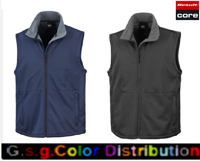 GILET UOMO DONNA   Gilet Core Softshell   Result Core