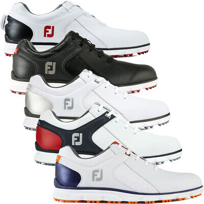 FootJoy Men's Pro SL Waterproof Leather Spikeless Golf Shoes (Boa Available)