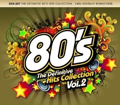80S Definite Collection Vol.2 3 Cd New! Dead Or Alive/Starship/Bonnie Tyler/+